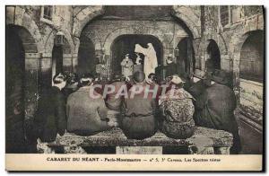 Old Postcard Paris Cabaret du Nil Paris Montmartre Sad spectra