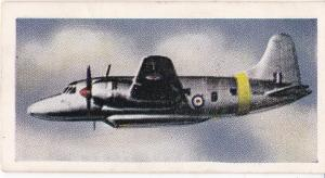 Trade Cards Beano Bubble Gum THIS AGE OF SPEED No 1 Aeroplanes No 28 Vickers
