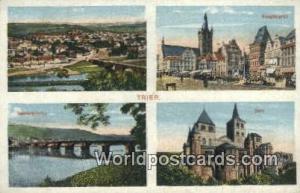 Trier Germany, Deutschland Postcard Dom, Hauptmarkt  Dom, Hauptmarkt