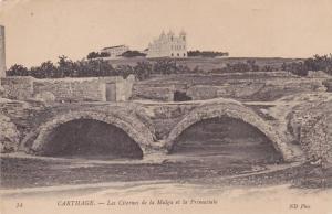 Les Citernes De La Malga Et La Primatiale, Carthage, Tunisia, Africa, 1900-1910s
