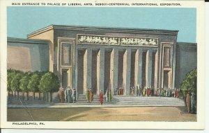 Philadelphia,PA., Main Entrance to Palace of Liberal Arts