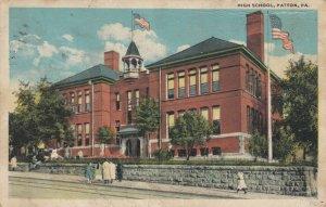 PATTON , Pennsylvania, PU-1909 ; High School
