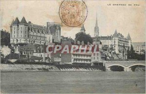 Old Postcard The Chateau de Pau