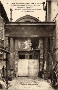 CPA PARIS (5e) 284 Rue Saint-Jacques. Entrée de l'ancien Carmel (535507)