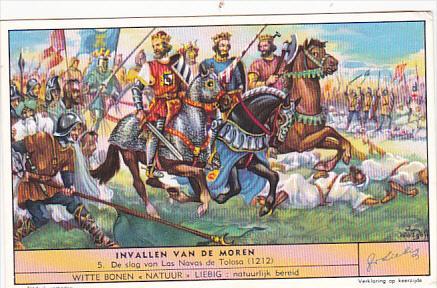 Liebei S1593 Invasion Of The Moors No 5 De slag van Las Navas de Tolosa 1212