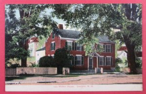 Old Walker House, Concord NH Postcard (#2539)