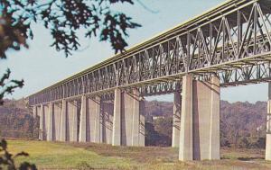 OHIO, 1940-1960's; Ohio Turnpike, Twin Bridges