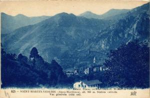 CPA Saint-Martin-Vesubie Vue generale (617142)