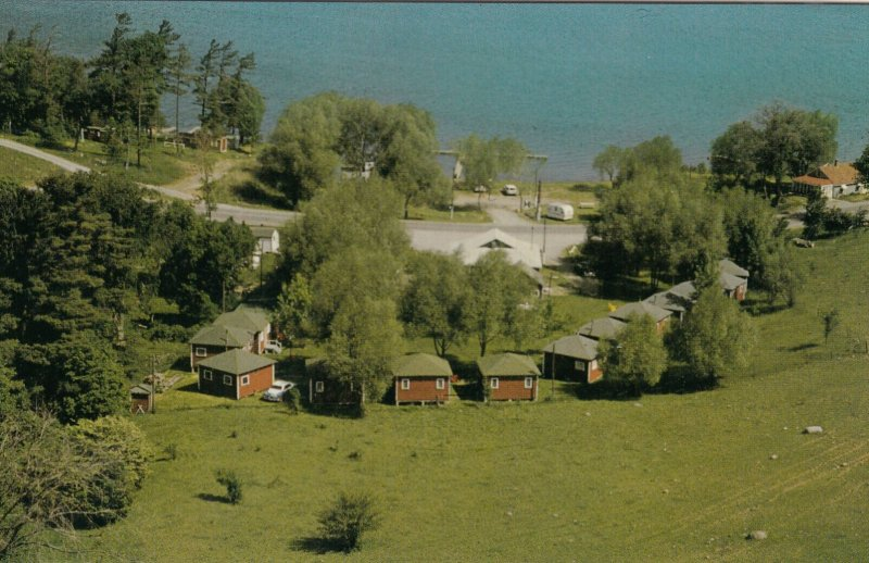 HARWOOD , Ontario , Canada , 50-60s ; Lakeview Camp , On Rice Lake