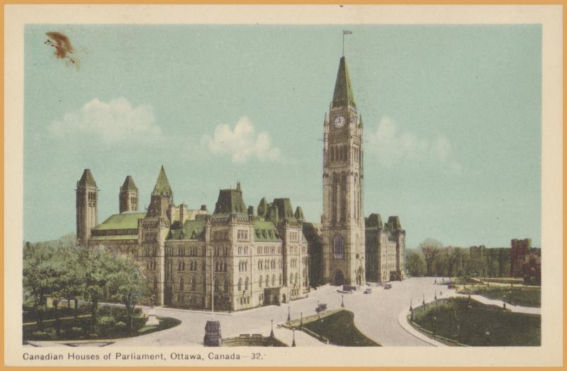 Canadian Houses of Parliament, Ottawa Canada -