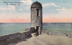 Florida Saint Augustinew Watch Tower Fort Marion