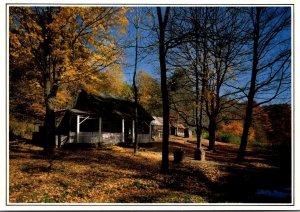 Indiana Brown County Nashville Log Cabin