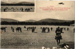 CPA ÉPINAL - Revue du 14 Juillet 1913 - Aprés le Tir des Mitraillences (455463)