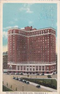 Rhode Island Providence The Providence Biltmore Hotel 1926
