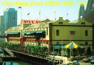 Pier One Sydney Harbour Market Australia Postcard