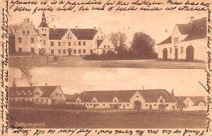 Sobysogaard Denmark Postal Used Unknown, Missing Stamp