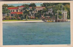 Florida Panama City The Cove Hotel Right On The Bay 1937