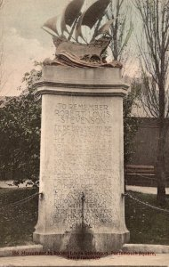 California San Francisco Portsmouth Square Robert Louis Stevenson Monument