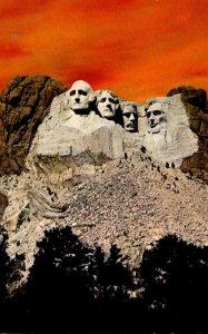 South Dakota Black Hills Mount Rushmore Memorial