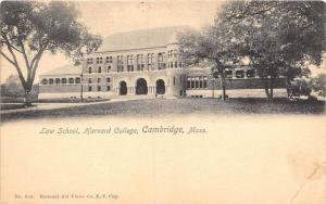 Massachusetts Cambridge    Harvard College   Law School