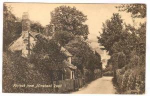 Porlock From Minehead Road, Minehead (Somerset), England, UK, 1900-1910s