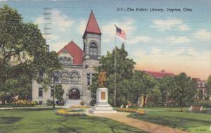 Public Library, Dayton, Ohio, 1948 PU