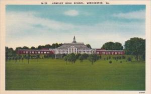 Handley High School Winchester Virginia