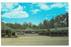 Williamsburg VA Colonial Motel Route 60 Owner Angelo Costas Vintage Postcard