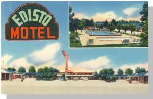 Orangeburg, South Carolina/SC Postcard,Motor Court/Route 301