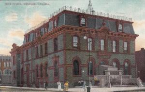 WINDSOR , Ontario , 1908 ; Post Office