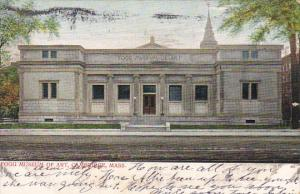 Fogg Museum Of Art Cambridge Massachusetts 1906
