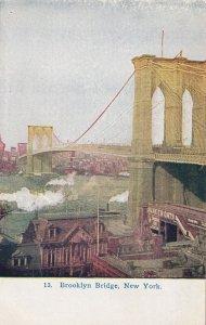 Brooklyn Bridge New York NY Postcard