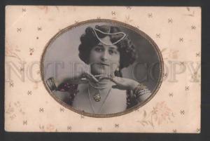 118118 BELLE Dancer Singer ART NOUVEAU Vintage OPF PHOTO PC