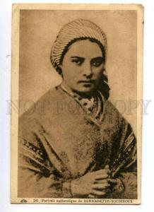 161534 Saint BERNADETTE SOUBIROUS Vintage RARE PHOTO PC
