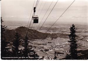 Mountain Cable Car - Aschau (Chiemgau) Germany 1958