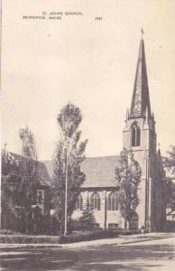 Maine Brunswick Saint Johns Church