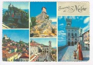5-view postcard, San Marino, PU-1963