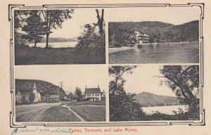 4-Views, FAIRLEE, Vermont, PU-1910: Lake Morey