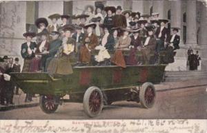 Sightseeing Car In Washington D C 1906