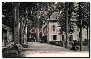 Ussat les Bains Postcard Old Spa Administration