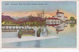 Colorado Colorado Springs Broadmoor Hotel and Lake