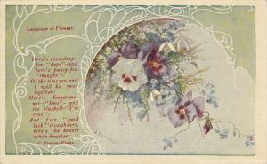Language of Flowers , PANSY , PU-1913