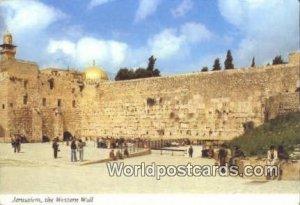 Western Wall JerUSA lem, Israel 1982