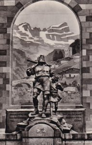 RP; SWITZERLAND, 1920-1940s; Das Telldenkmal In Altdorf