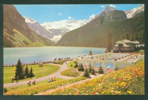 Chateau Lake Louise Swimming Pool Banff National Park Canada Alberta Postcard
