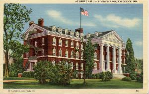 US    PC529  ALUMNAE HALL, HOOD COLLEGE, FREDERICK, MD