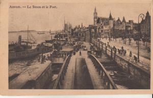Belgium Antwerp harbour