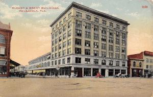 Pensacola FL~Blount Bldg~State Bank~Plumber Chasaborn~Royal Stores Co c1910