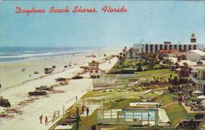 Aerial View Daytona Beach Shores Florida