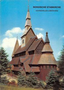 Nordische Stabkirche Hahnenklee Bockswiese Oberharz Church Eglise